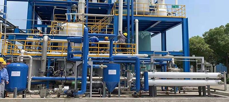 有机废气冷凝回收工程案例