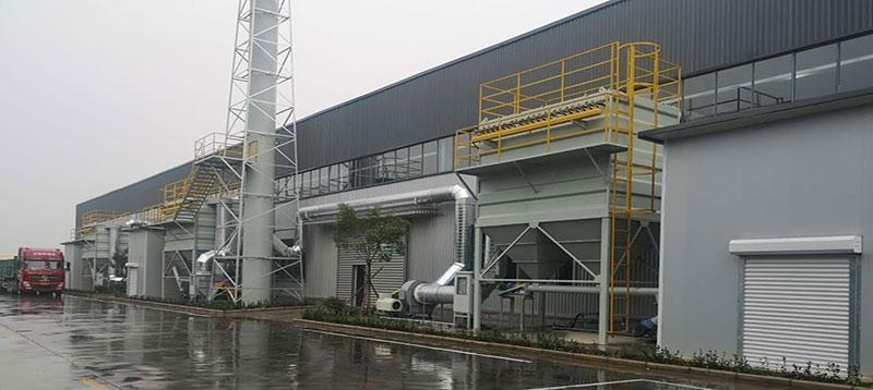 山东鲁泰建材有限公司布袋除尘器